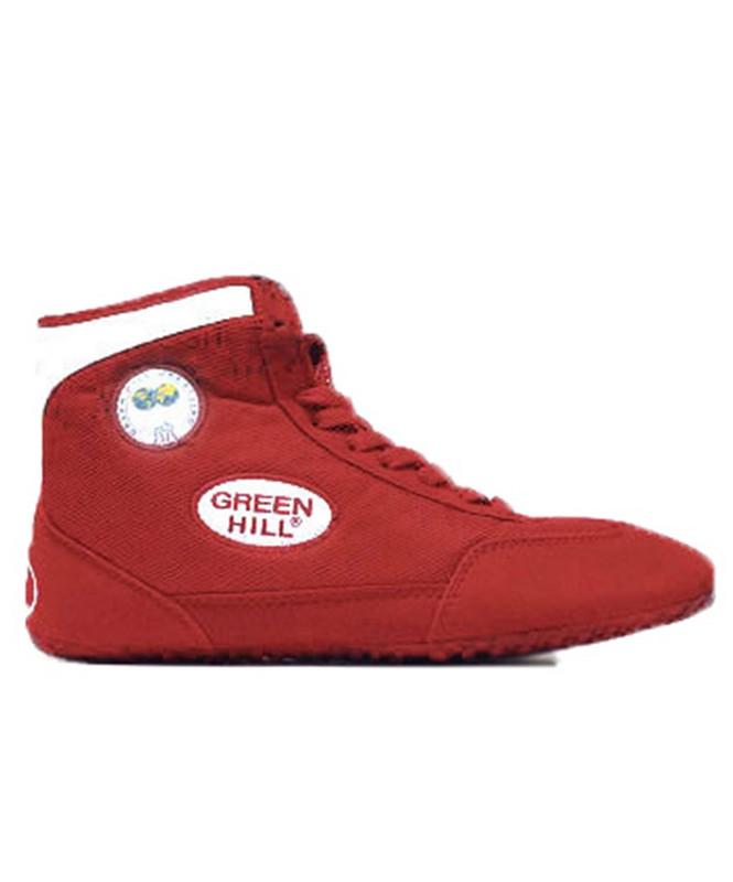 Обувь для борьбы Green Hill GWB-3052/GWB-3055 красный/белый (35-45) обувь для борьбы ascs ascs014 31 32 34