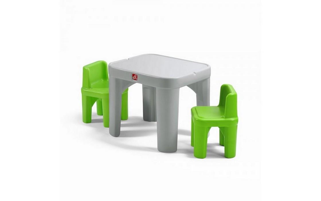 Столик с двумя стульями Step2 854400 от Дом Спорта