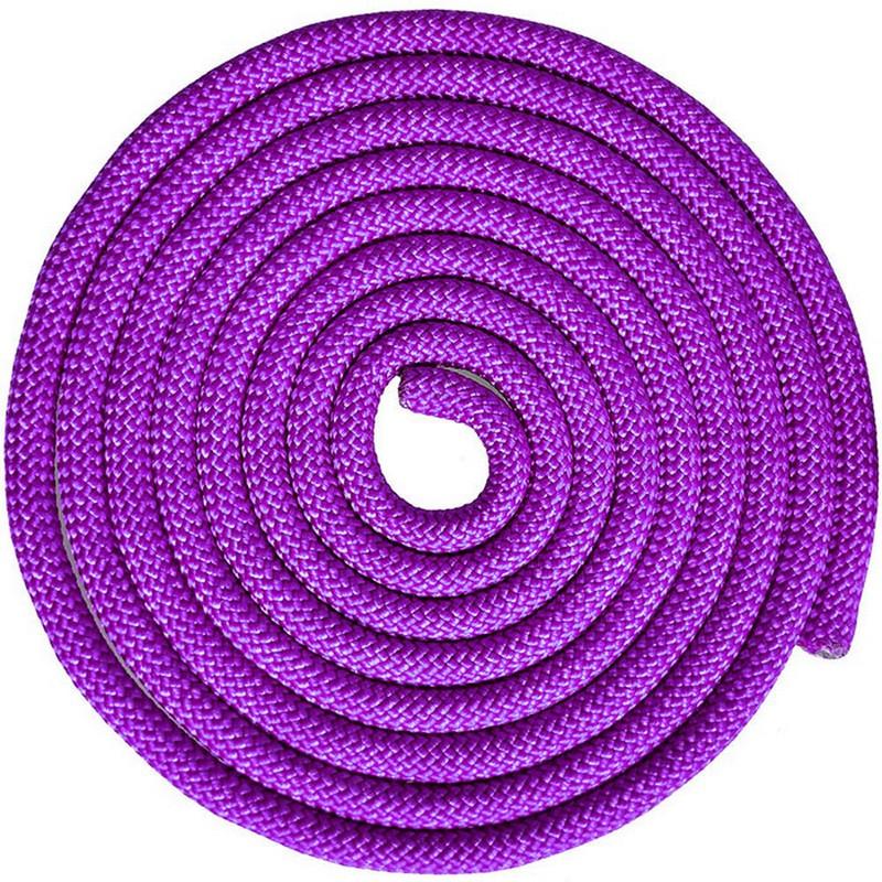 Купить Скакалка для художественной гимнастики 3 м Pro SKG10-07 фиолетовый, NoBrand