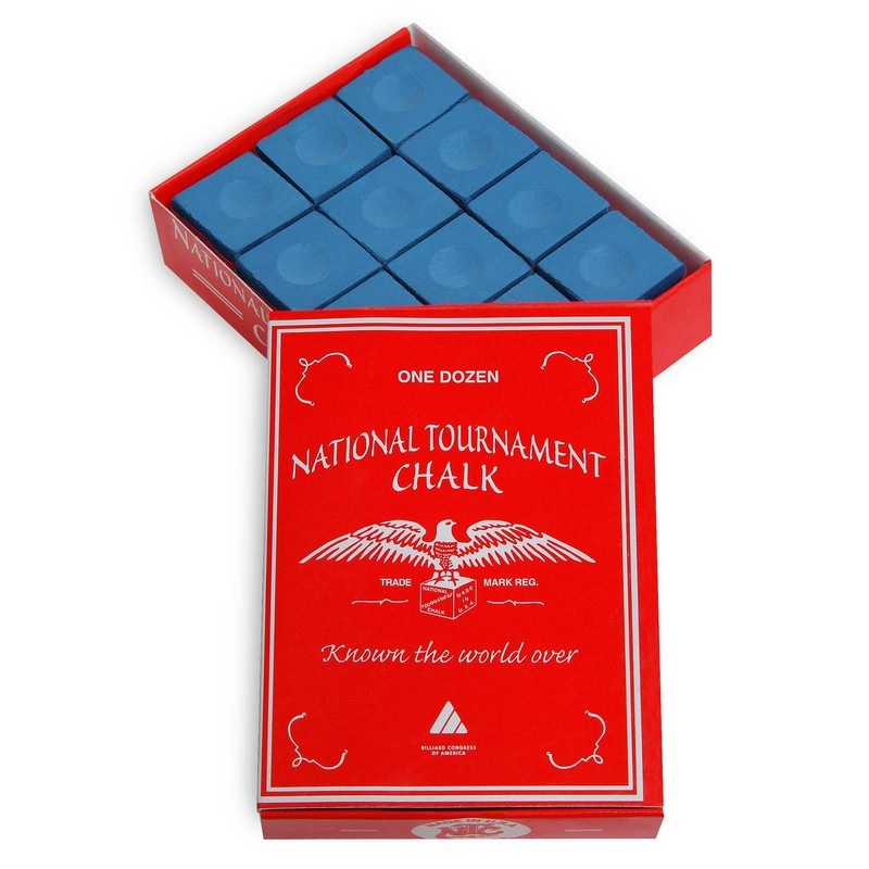 Купить Мел Silver Cup National Tournament Chalk 12шт 07597 Blue,