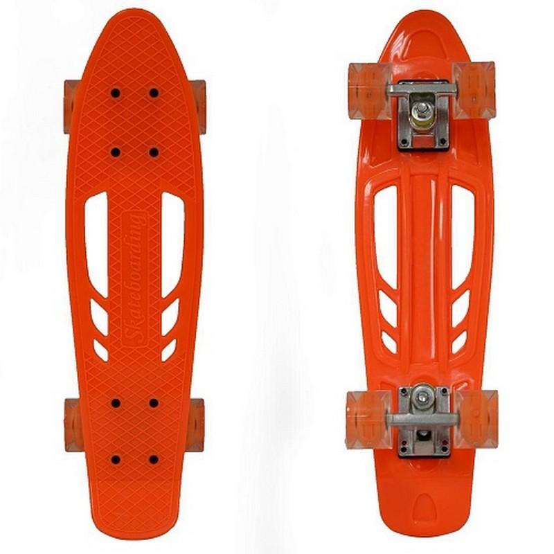 Купить Пенниборд Black Aqua S00238 оранжевый,