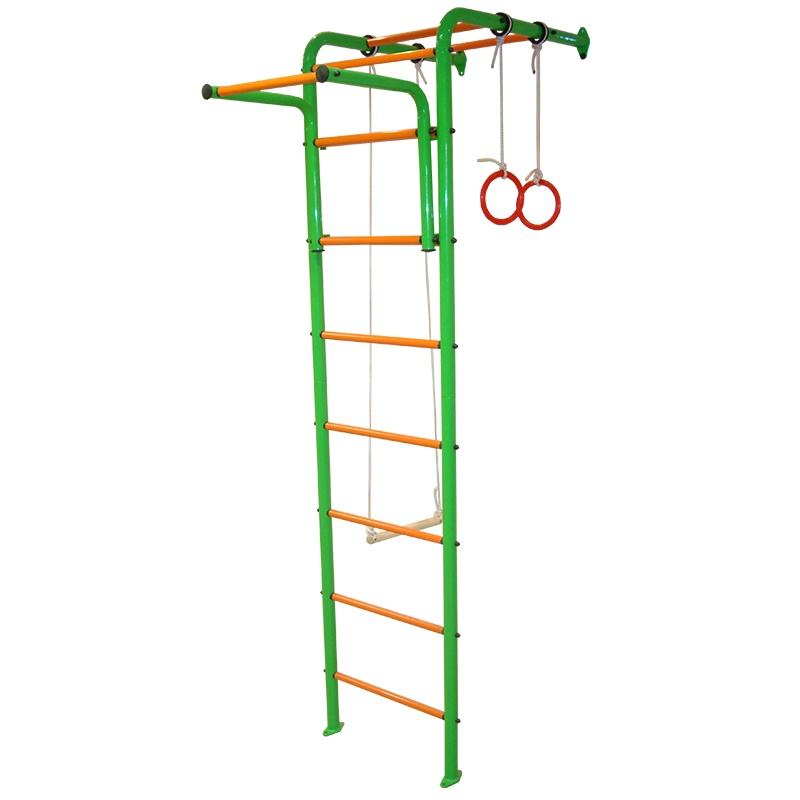 Детский спортивный комплекс Альпинистик ДСК 1 салатово-оранжевый
