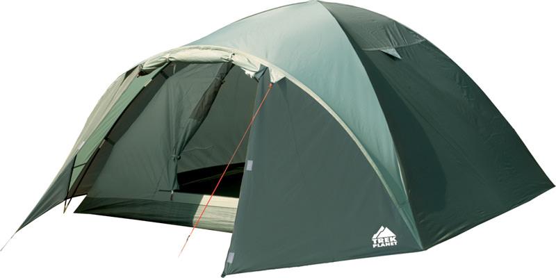 Палатка 4-м Trek Planet Denver Air 4 оливковый палатка трехместная trek planet toronto 3 цвет темно зеленый оливковый