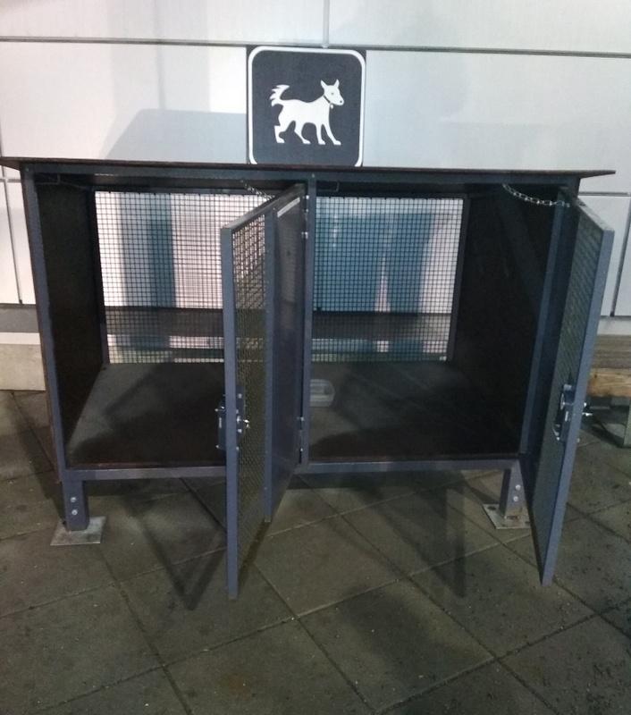 Купить Парковка для собак ТЦ Hercules 6416,