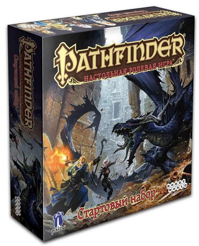 Купить Настольная игра Hobby World quot;Pathfinder quot; стартовый набор, Настольные игры