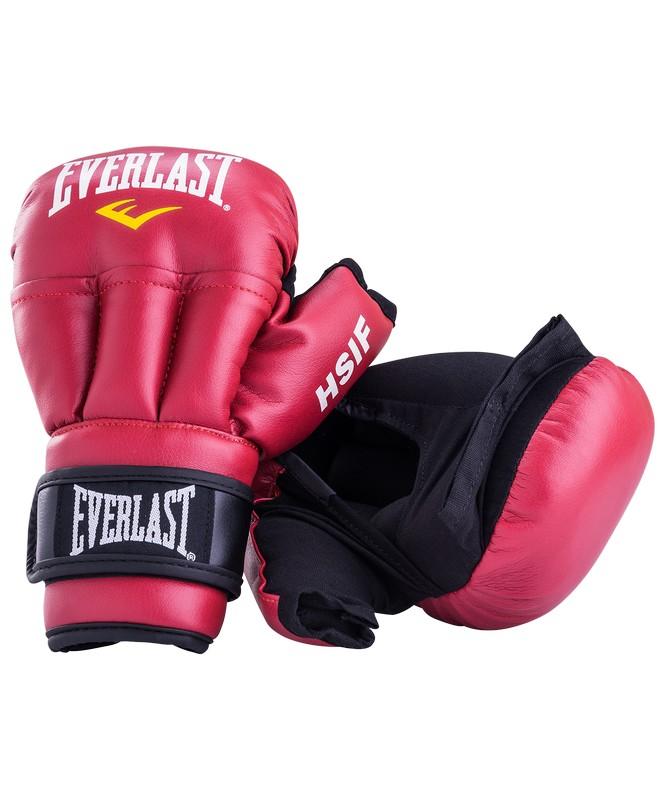 Купить Перчатки для рукопашного боя Everlast HSIF RF3106, 6oz, к/з, красный,