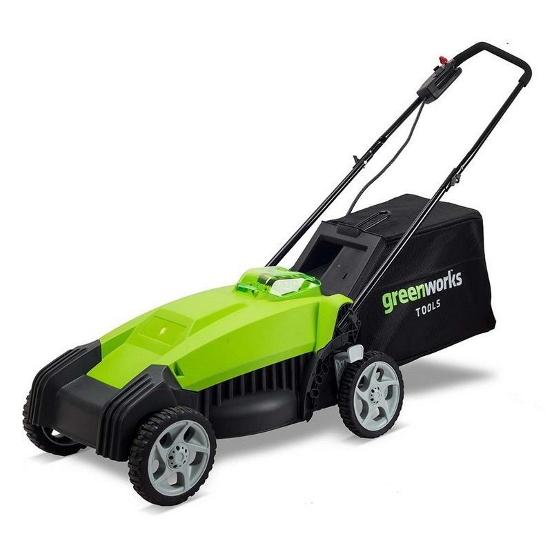 Газонокосилка аккумуляторная Greenworks 2500067 G-MAX 40V 35 cm без АКБ и ЗУ