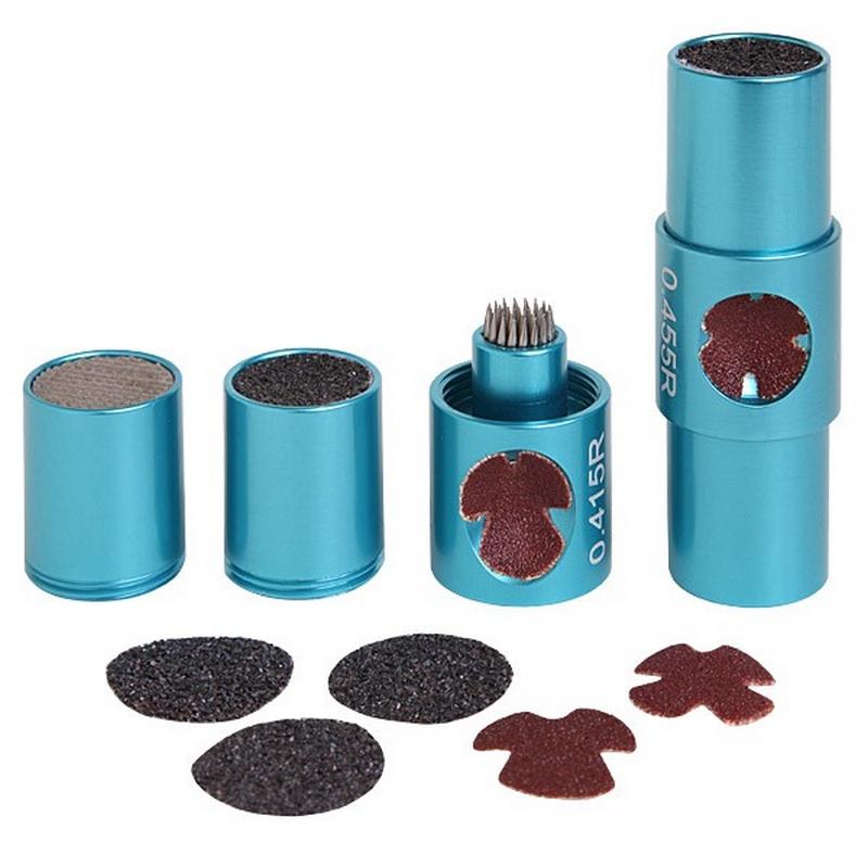 Инструмент Tip Master многофункциональный с комплектом сменных абразивных элементов синий многофункциональный инструмент спец бми 300к