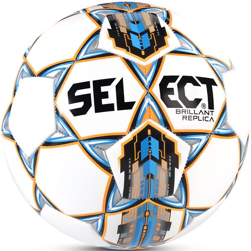 Мяч футбольный тренировочный р4 Select Brillant Replica кожаная куртка quelle ashley brooke by heine 93976