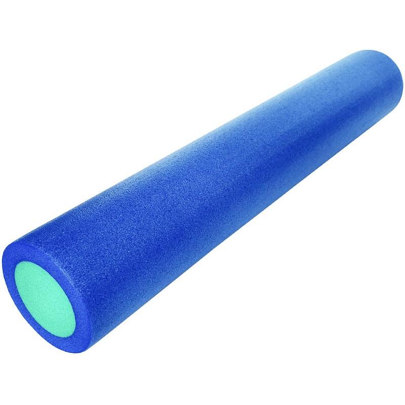 Купить Ролик для йоги полнотелый 91x15cm PEF100-91-7 синий-зеленый, NoBrand