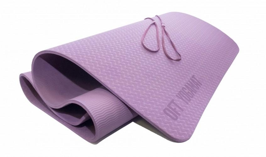 Мат для йоги Original Fit.Tools FT-YGM8-1T-PURPLE