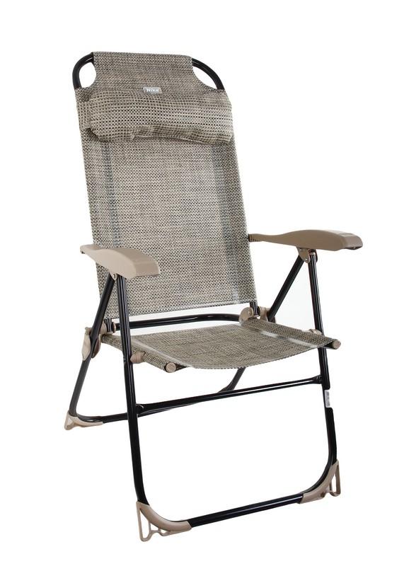 Кресло-шезлонг Ника КШ2\1 ротанг