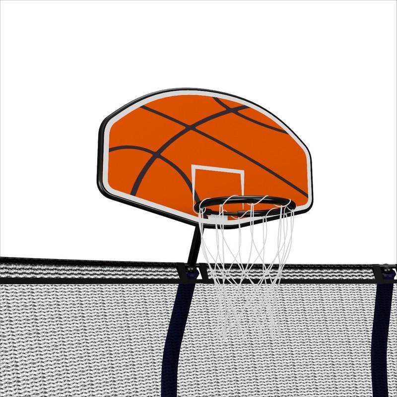 Баскетбольный щит для батутов Unix серии Supreme12-16ft