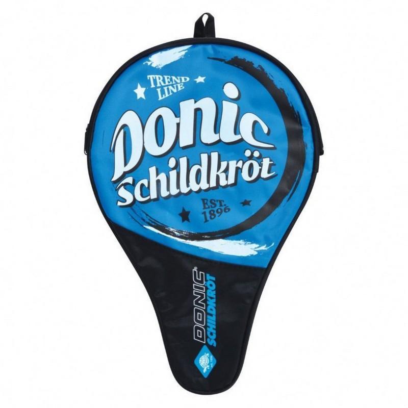 Купить Чехол для ракетки настольного тенниса Donic Trendline синийчерный,