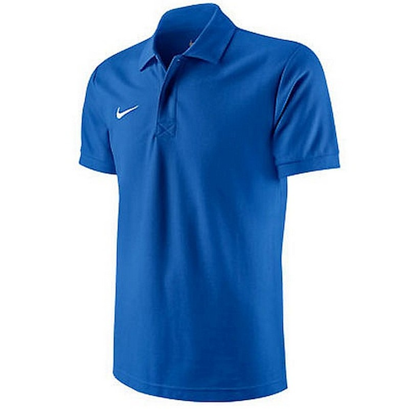 Футболка-поло Nike Ts Boys Core Polo 456000-463 детская, синяя