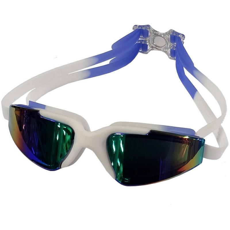 Купить Очки для плавания регулируемый B31544-0 Белосиний, NoBrand