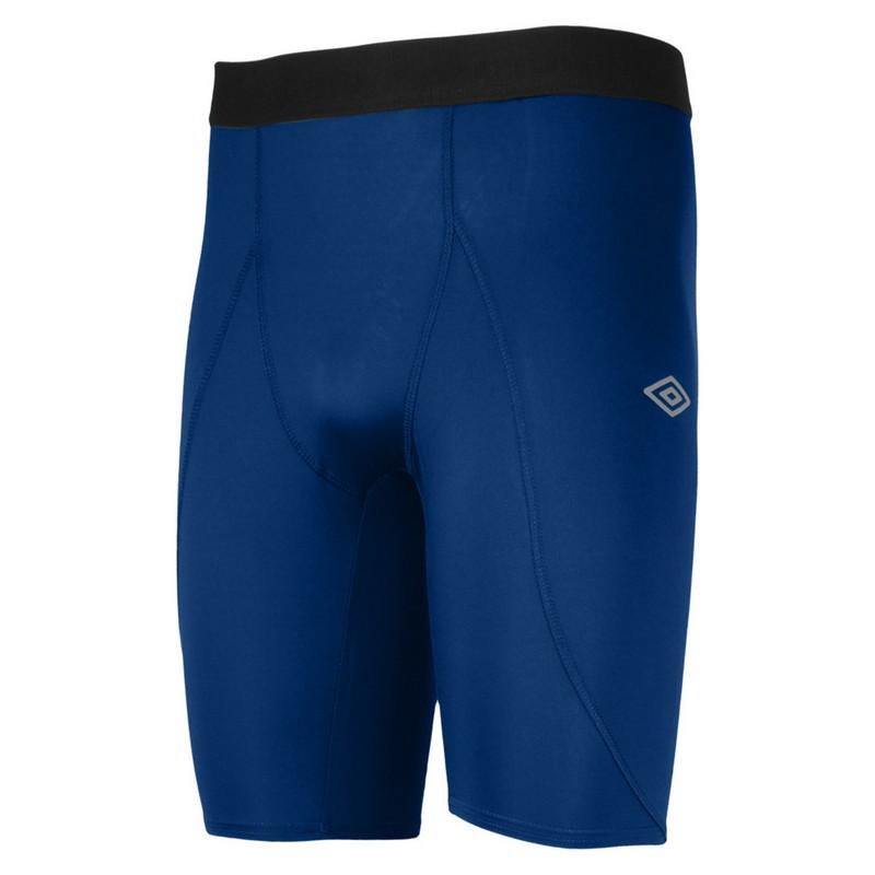 Лосины Umbro Support Short короткие мужские 61475U (Y70) т.синие