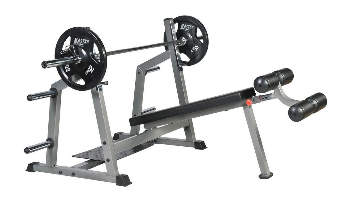 Купить Олимпийская скамья для наклонного жима вниз головой BenCarFitness TS-M48,