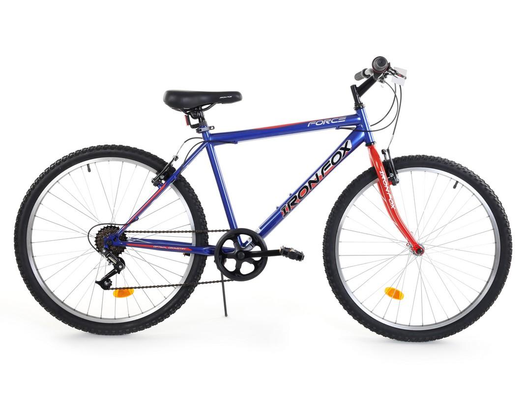 Купить Велосипед Iron Fox Force 26 6ск, (18,26 ) синийкрасный,