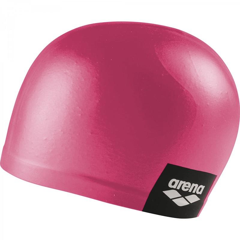 Купить Шапочка для плавания Arena Logo Moulded Cap 001912101-214, розовый, силикон,