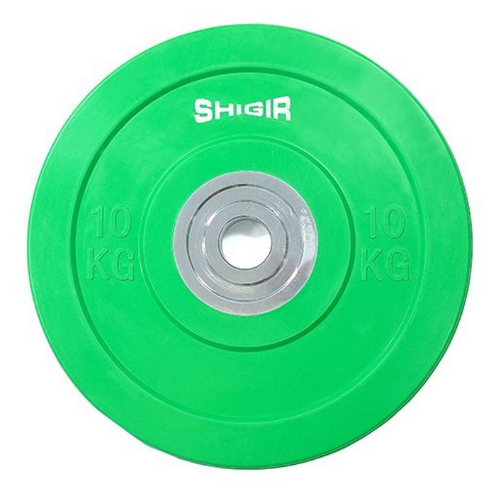 Купить Диск бамперный цветной для кроссфита 10 кг Iron King CR,