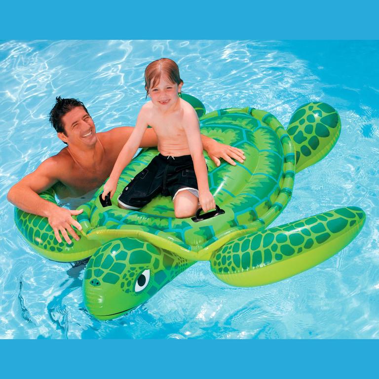 Игрушка надувная Intex Черепаха 191x170 см 56524 надувная игрушка для плавания intex 58523 касатка