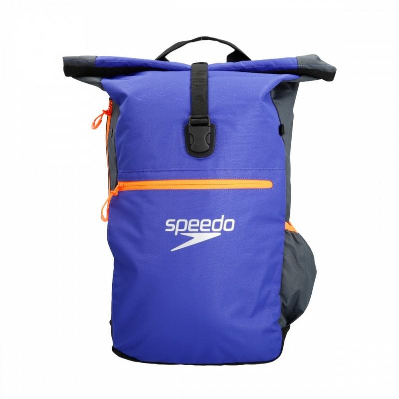 Рюкзак Speedo Team Rucksack III 8-07688C299 серый\ультрамарин