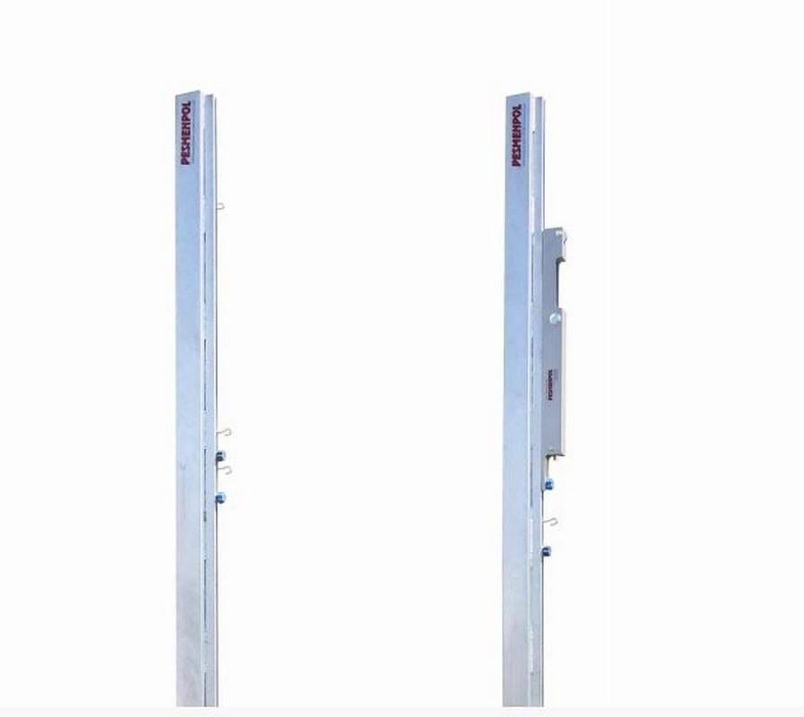 Стойки волейбольные Pesmenpol стальные оцинкованные с механизмом натяжения 2 шт.