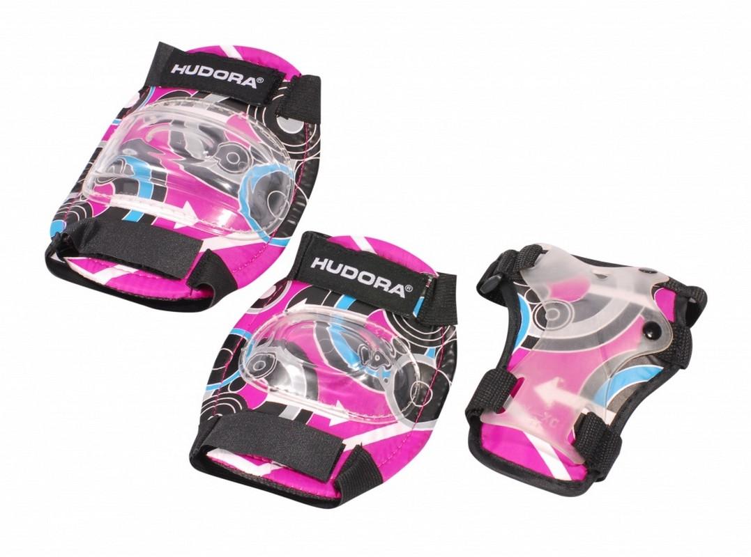 Комплект защиты Hudora Pink Style