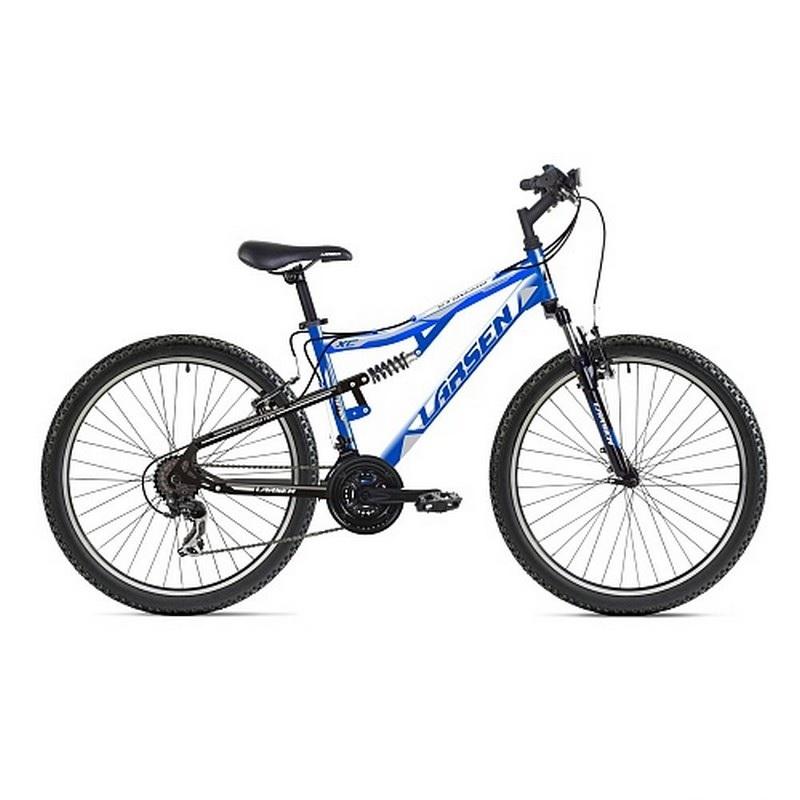 Велосипед Larsen Offroad 26 2017 синий/белый
