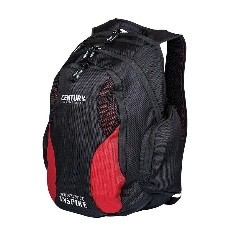 Рюкзак Century Backpack 2188 повседневный чер/крас.