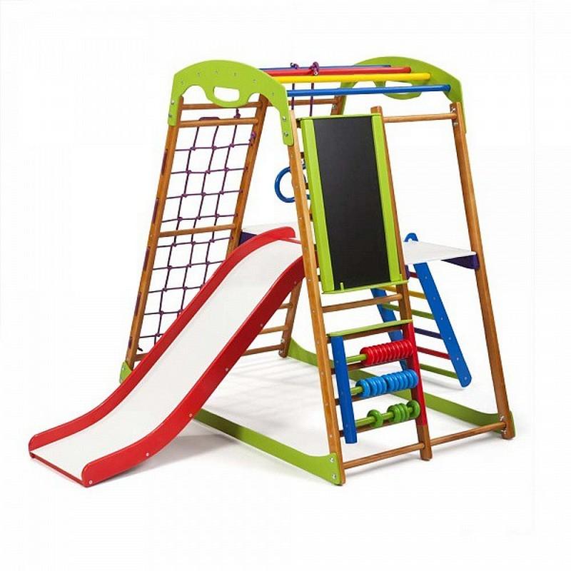Купить Детский спортивный комплекс для дома SportWood BabyWood Plus 3, Дск для дома