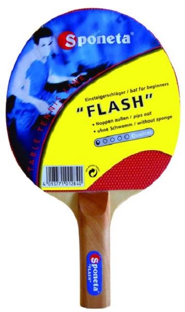 Ракетка для настольного тенниса Sponeta Flash 1 ракетка для настольного тенниса torneo tour plustable tennis bat ti b3000