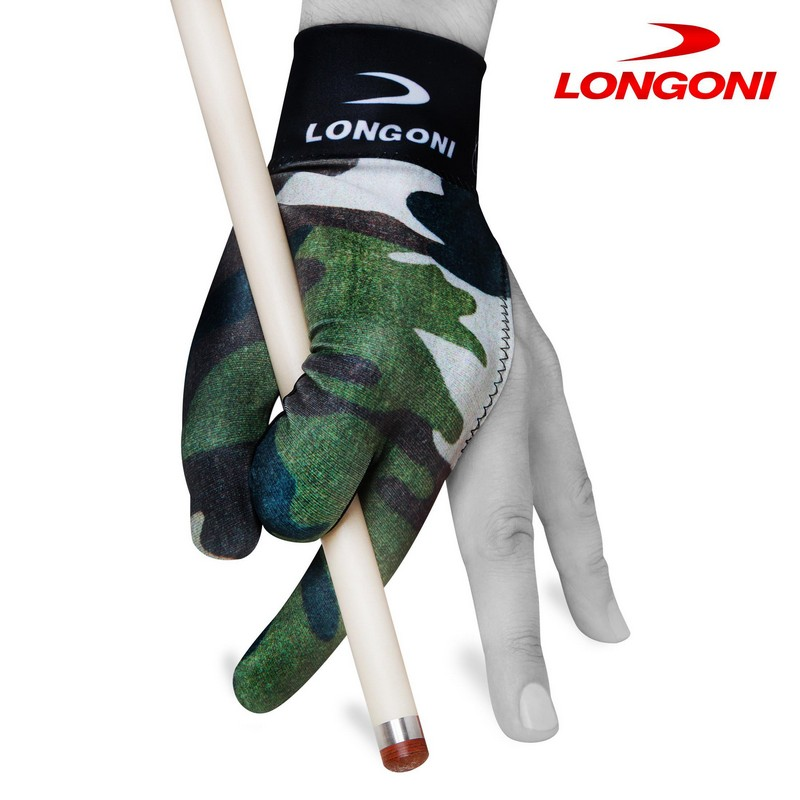 Перчатка Longoni Fancy Military 3 безразмерная 07416 хаки