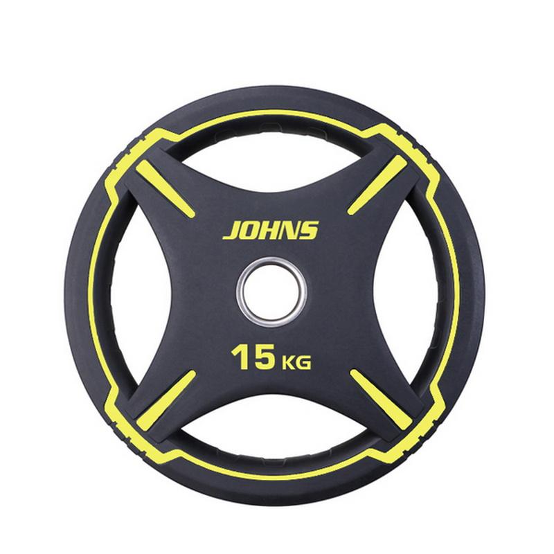 Купить Диск Johns D50мм чёрно-жёлтый 15 кг 91030 - 15ВC,