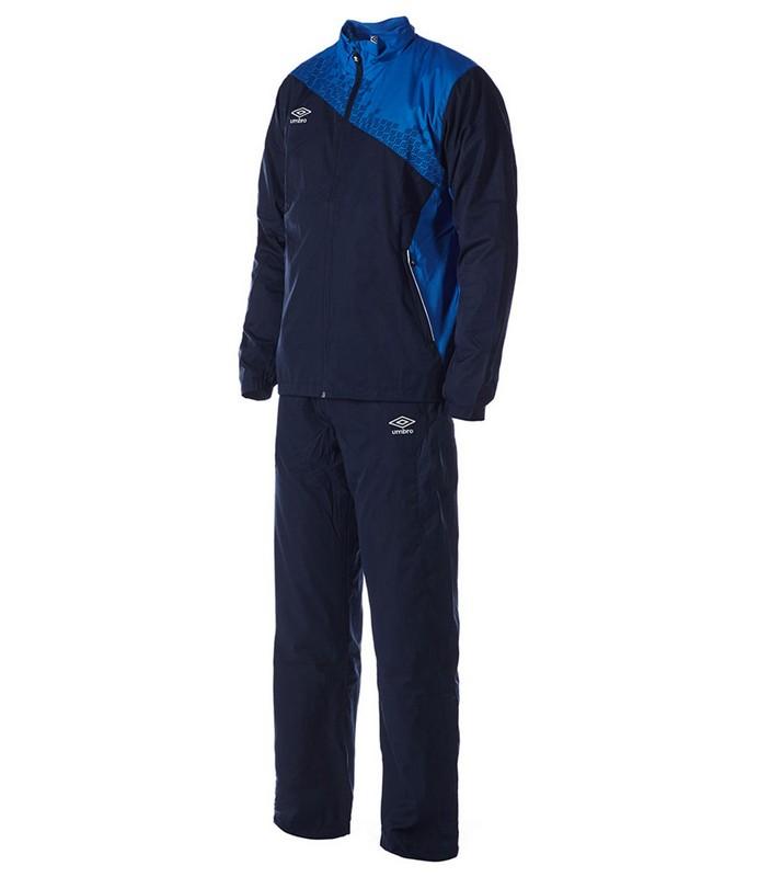 Костюм спортивный Umbro Armada Lined Suit мужской 460115 (791) син/т.син/бел.