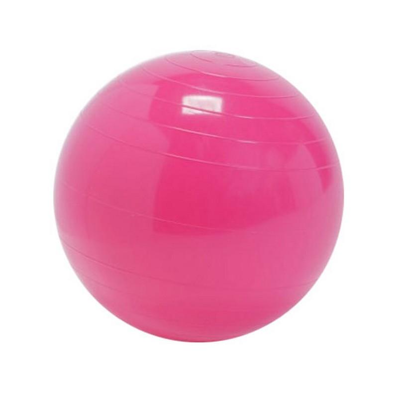 Мяч фитбол для детей Gym-Ball d30 см, розовый, 8094, NoBrand  - купить со скидкой