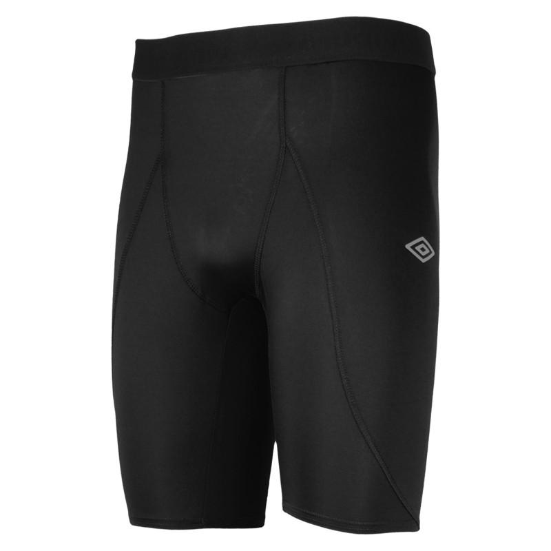 Лосины Umbro Power Short короткие мужские (060) черные