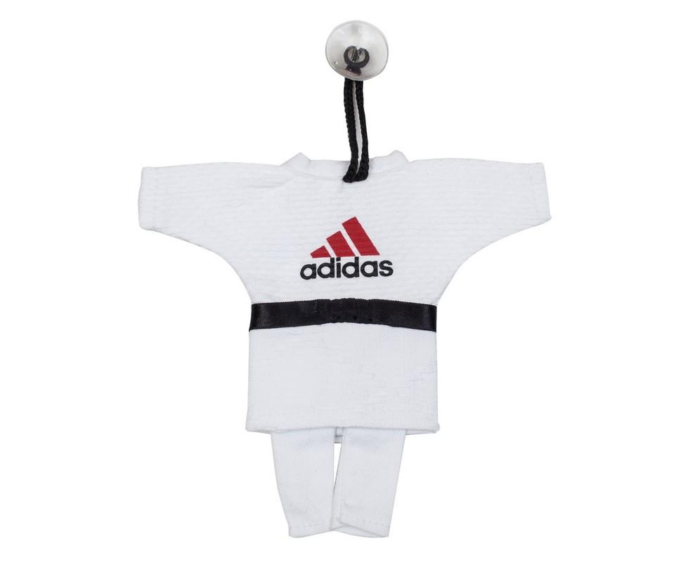 где купить Сувенирное кимоно для дзюдо Adidas Mini Judo Uniform белое по лучшей цене