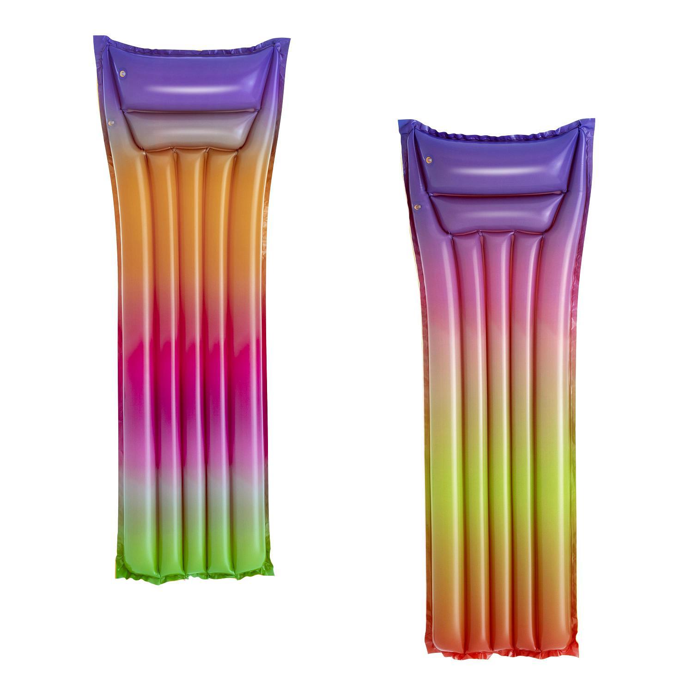Купить Надувной матрас для плавания Bestway 183х69см Радуга до 90кг, 2 вида 44041,