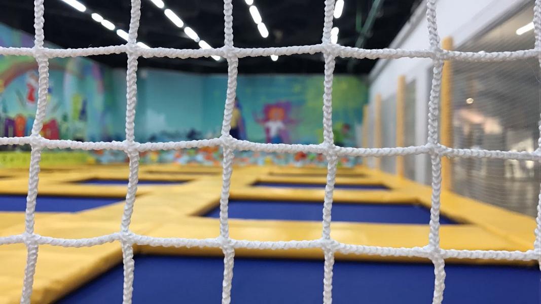 Купить Сетка для хоккея с мячом 2,14х3,66х0,9х1,2м (D= 3,1мм), NoBrand
