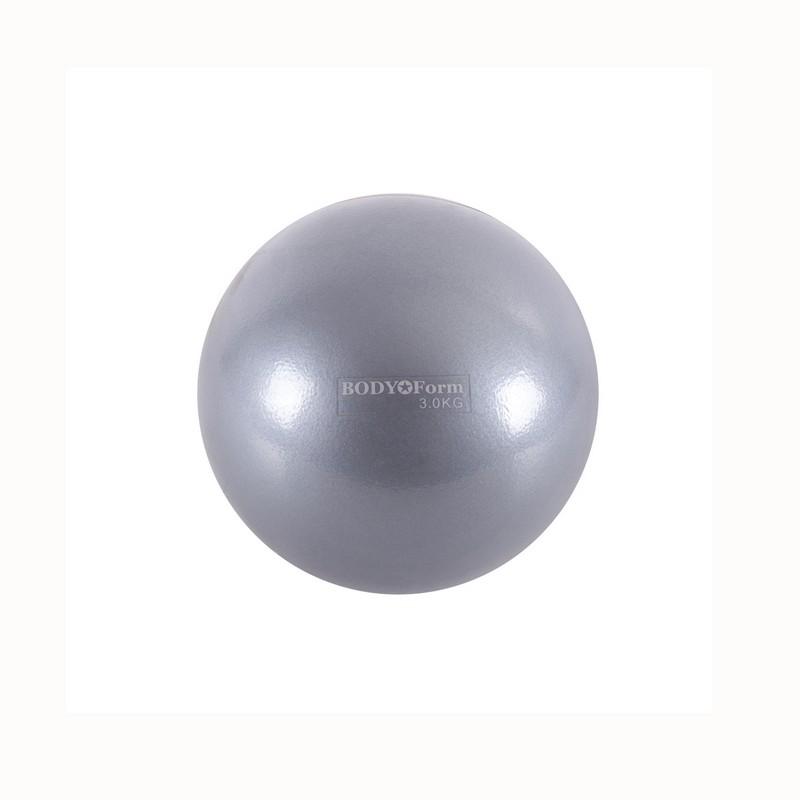Мяч для пилатеса Body Form BF-TB01 3,0 кг D=15 см графитовый