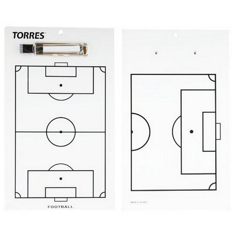 Купить Тактическая доска для футбола Torres TR1002S белая,