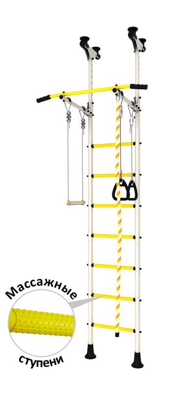 Купить Детский спортивный комплекс DSK Распорный с регулировкой (с массажными ступенями) ДСКМ-2-7.06.Г6.410.14-24,