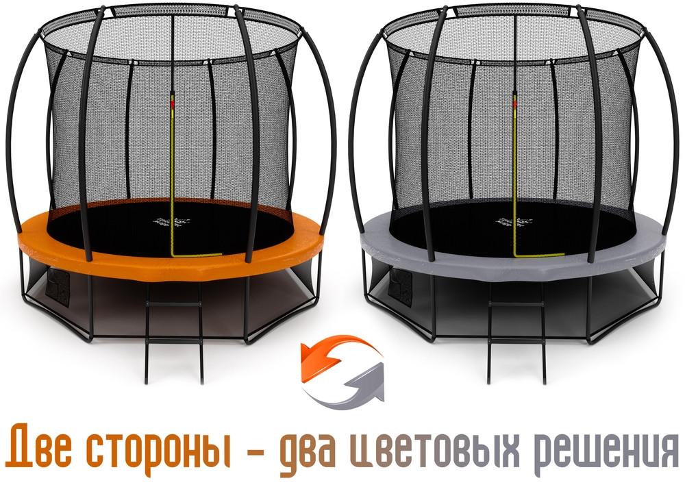 Купить Батут Triumph Nord Премиальный 10FT 305 см Серый/Оранжевый 80119,