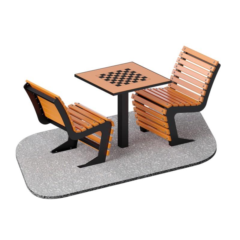 Купить Шахматный стол уличный ARMS ARLS012,