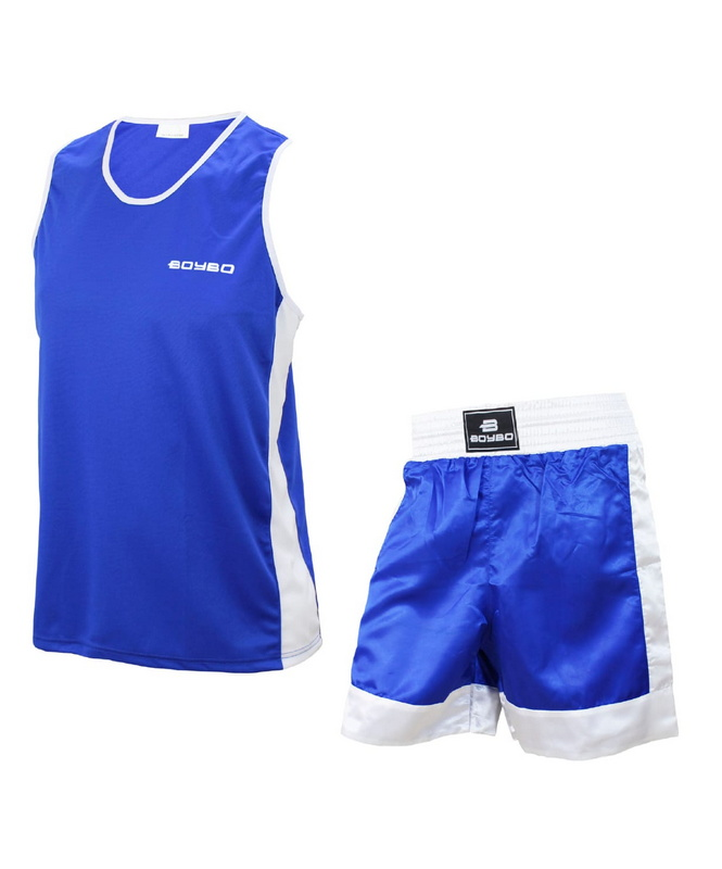 Форма боксерская BoyBo детская, синий фото