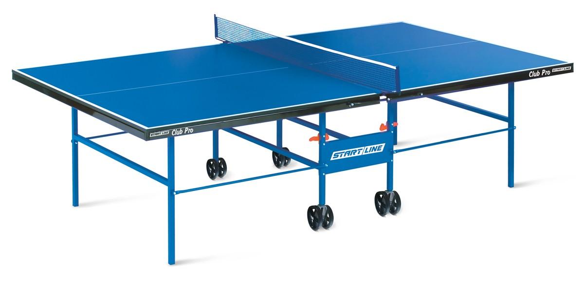 Купить Теннисный стол Start Line Club Pro с сеткой 60-640-1,