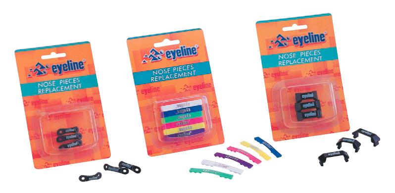 Набор запасный перемычек для очков 3шт Eyeline nosepieces ПР-3
