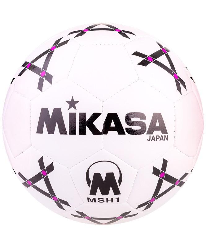 Мяч гандбольный Mikasa MSH1 №1, бел/черн.